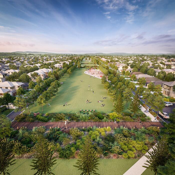 240719 - Story 1 - AVID Group - Harmonys grand linear park render